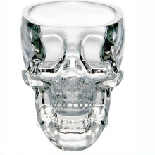 Crystal Skull Head Vodka Whiskey Shot Glass Cup Drinking Ware Home Bar Cup Mug 80ml
