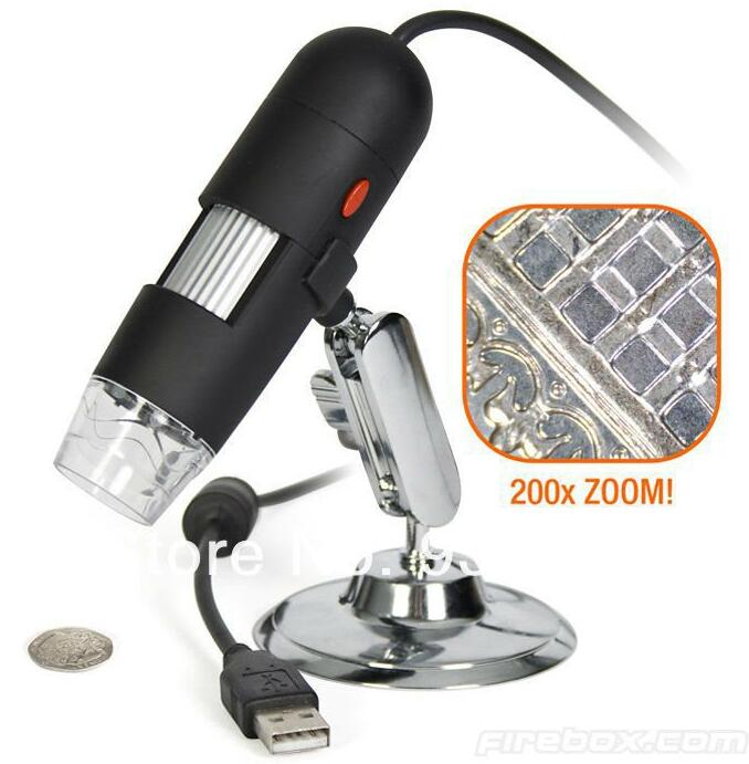 500X New portable Digital USB Microscope,USB Connection magnifying glass,magnifier<br>