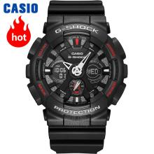 Casio watch Anti - shock outdoor sports double display electronic watch GA-120-1A GA-120A-7A GA-120TR-1A GA-120TR-7A GA-120TR-4A(China)