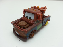 Disney Pixar Cars Mater With No Tires Metal Diecast Toy Car 1:55 Loose Brand New In Stock & Free Shipping(China)