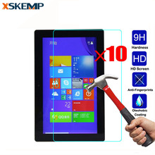 "For Microsoft Surface Pro2 RT2 10.6"" 3 10.8"" Pro3 RT3 12"" Pro 4 10pcs Protector Film Tablet Glossy Tempered Glass Screen Protect"