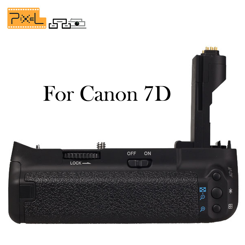 Pixel Vertax E7  Battery Grip For Canon EOS 7D DSLR Camera as BG-E7<br><br>Aliexpress