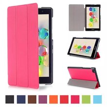 Discount New 2016 Hot Sale Magnet Leather Cover Stand Case For Asus Zenpad C 7.0 Z170C Z170MG Z170CG Tablet Pc Case Cover