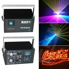 3 watt Full Color Laser Spider Moving Head Stage RGB Laser diode Light Disco Night Club Lighting