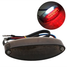 1Pc Bike Brake Light 28 LED Motorcycle ATV Dirt Stop Running Tail Universal 12V DC