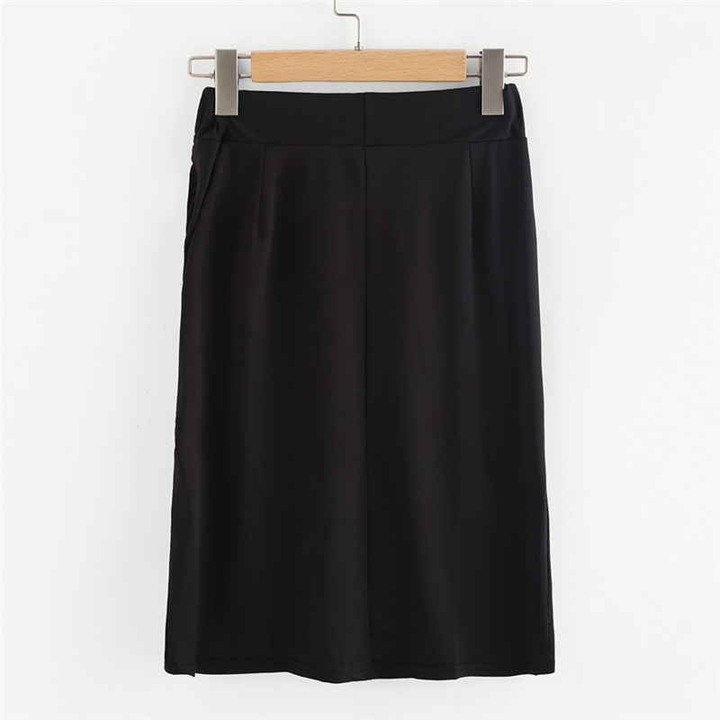 COLROVE Sexy Ruched Mini Pencil Skirt Women Black Asymmetrical Overlap Summer Skirts 2017 New Elegant High Waist Slim Club Skirt 19