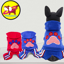 Genuine Petcircle Pet Dog Clothes Winter Pet Paws Dog Hoodies For Chihuahua Dog Coats For Small Large Clothes Clothing For Dogs(China)