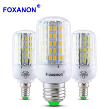 E27 220V LED Lamp 5730 SMD LED Bulb E14 Corn 24 30 42 64 80 89 108 136 Leds Lamp Bombillas Light Bulbs Lampada Ampoule Lighting