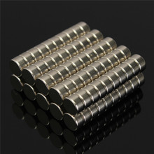 100pcs N52 neodymium magnet Strong Mini Round Wall Magnets Dia. 6 x 3 mm Disc Rare Earth magnet