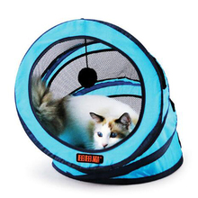 For Summer Indoor Portable Folding Pet Tent Collapsible Spiral Pets Litter, Durable Dogs Cats Bed Soft Dog Crate Cave House Bed