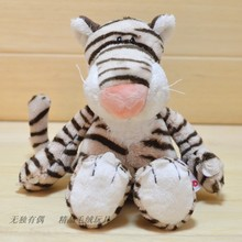 candice guo! new style Nici plush toy cute stripe tiger forest friend Jungle Series stuffed doll christmas birthday gift 1pc(China)
