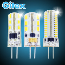 New Silicone G4 LED Lamp AC DC 12V 220V 3W 5W 6W 7W 9W 10W Replace 10w 30w halogen G4 lamp SMD 3014 2835 360 Beam Angle Light