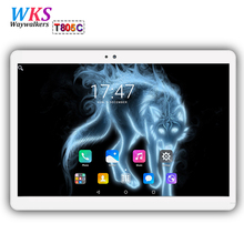 10 inch tablet pc Android 7.0 octa core RAM 4GB ROM 64GB Dual SIM Bluetooth GPS 1920*1200 IPS tablets pcs best Christmas gifts(China)