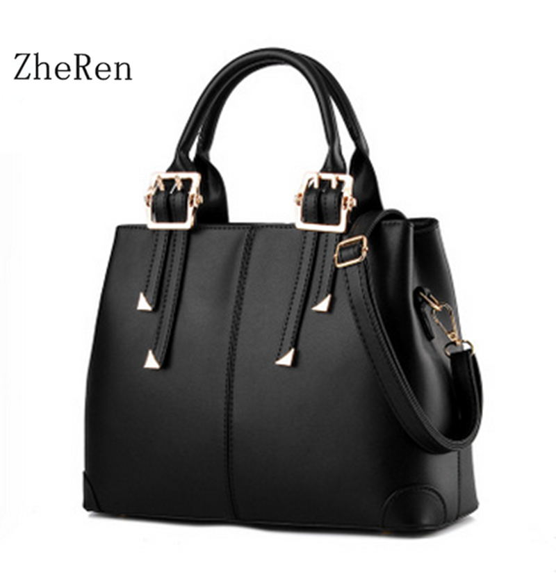 2017 Women Handbag Female Bag Bag Fashion of Europe and the United States has a temperament Style Shoulder Bag<br><br>Aliexpress