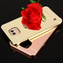 Capas For LG X Cam Cover Rose Gold Mirror Protector Cell Phone Cover For LG Xcam 580 K580 K580y K580DS Back Cover Coque fu508(China)