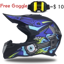 free shipping factory price cascos capacete dirt biker off-road motorcycle helmet rockstar cross ATV Bicycle motocross helmets(China)
