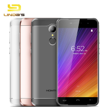 HOMTOM HT37 PRO Mobile Phone 3G RAM 32G ROM Android 7.0 MTK6737 Quad Core 4G LTE Smartphone Fingerprint 1280*720 13MP Cellphone