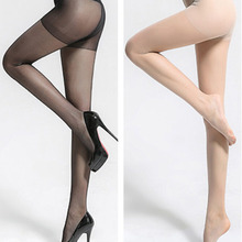 Buy New Popular Summer Thin Pantyhose High Elastic Transparent Sexy Stockings Solid Color Women Pantyhose Wholesale