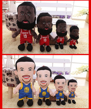 25/35/46/56cm NBA Basketball Player Stars Plush Suppets Doll James Harden Curry Children Birthday Gifts Stuffed Toy Plush Figure