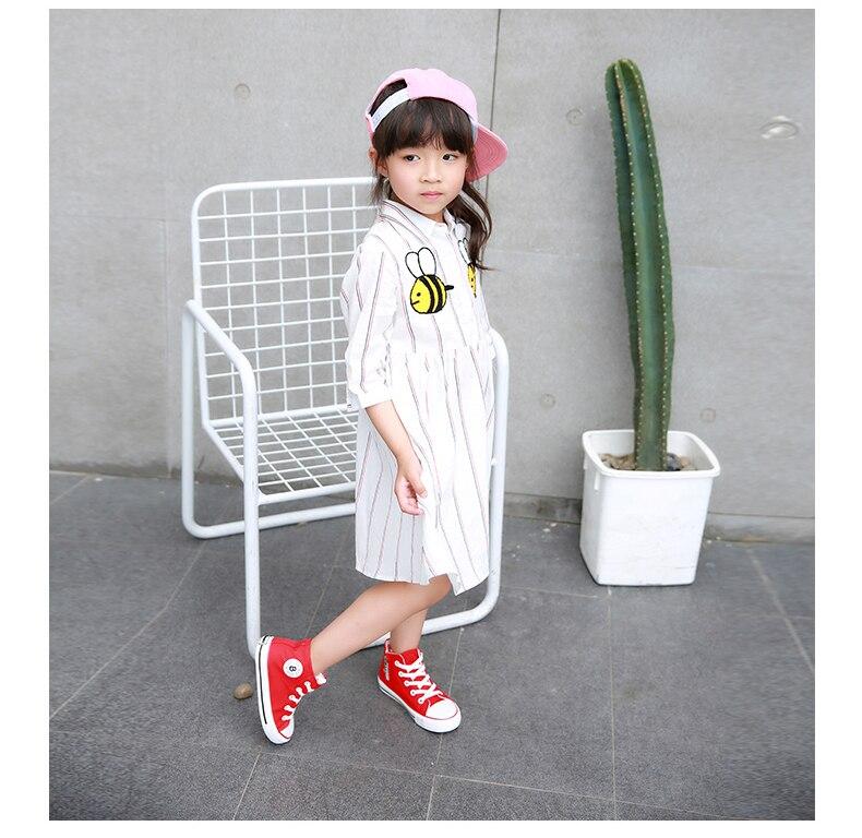 Enfants chaussures pour fille enfants toile chaussures garçons 18