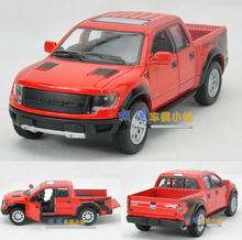 Candice guo! Hot sale newest arriaval Scale 1:46 KINSMART cool mini Ford F150 pickup alloy model car toy good for gift 1pc(China)