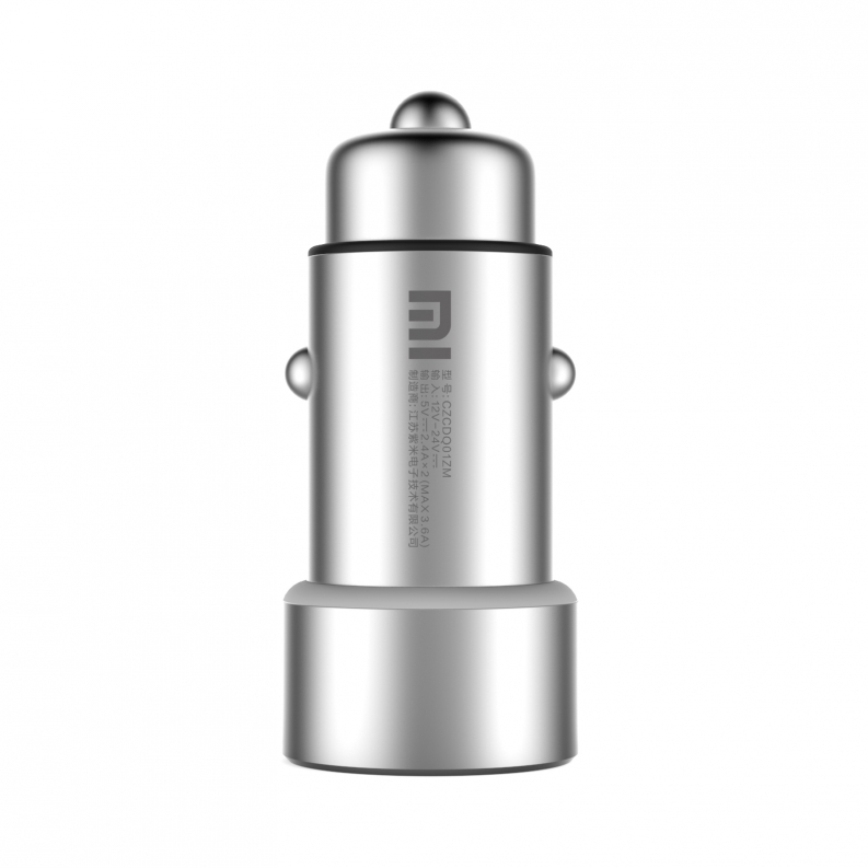 100% Original Xiaomi Car Charger 2-in-1 Double USB Cigarette Lighter Adapter for iPhone iPad Samsung LG HTC Lenovo Huawei(China (Mainland))