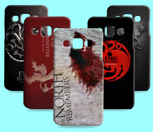 Ice and Fire Cover Relief Shell For Samsung Galaxy J3 Pro Cool Game of Thrones Phone Cases For Samsung Galaxy J3 2016(China)