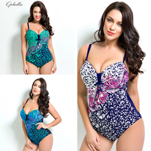 Buy 2018 Bather Plus Size Swimwear Female Sexy One Piece Indoor Swimsuit Women Tankini Push May Beach Wear Swimming Bathing Suit