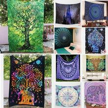 1pc Trendy Beach Towels Multifunction Print Mandala Tapestry Blanket Swimming Beach Tower Picnic Rug Bath 21 Pattern R5(China)