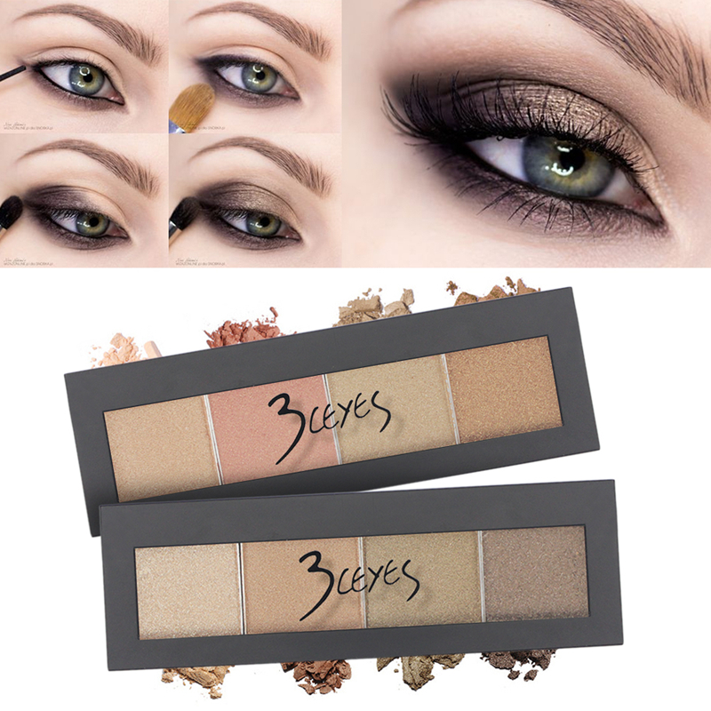 3CEYES Eye Shadow Makeup Pallets Eyeshadow Palette Powder Brand Paletas De Maquillaje Professional Eyes Beauty Makeup(China (Mainland))