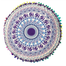 Ouneed Indian Mandala Floor Pillows Round Bohemian Cushion Cushions Pillows Cover Case jan1 Professional Drop Shipping