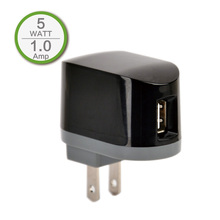 1A USB Port US Home Charger Adapter for iPhone 3 3G 3Gs iPhone 5 5s 5c 6 plus Samsung Mobile Power Bank, Travel Charger, Black