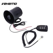 Vehemo 125dB Car Motor Alarm Alert Bell Clock Speakers Amplifier Warning Supplies(China)
