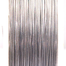 Stainless Steel Wire,0.6mm Tigertail Beading Wire Thread Cord Plastic Protective Film Coated Wire For Diy Jewellry Making