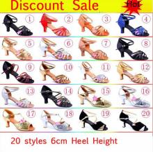 Buy New 2017 Satin/PU Girls Ladies Women's Tango Salsa Dance Ballroom Latin Dance Shoes 6cm Heels for $6.80 in AliExpress store