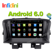 Pure Android 6.0 car DVD radio gps player For Chevrolet Cruze 2008 2009 2010 2011 2012 gps radio BT gps cruze dvd car 2 din dvd