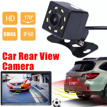 willtoo 170 degrees CMOS II Car Rear View Reverse Backup Parking HD Camera Night Vision Waterproof 520TV lines high resolution(China)