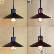 New Metal Warehouse Vintage industrial pendant Light  Fitting wrought iron edison lamp luminarias pendente industrial