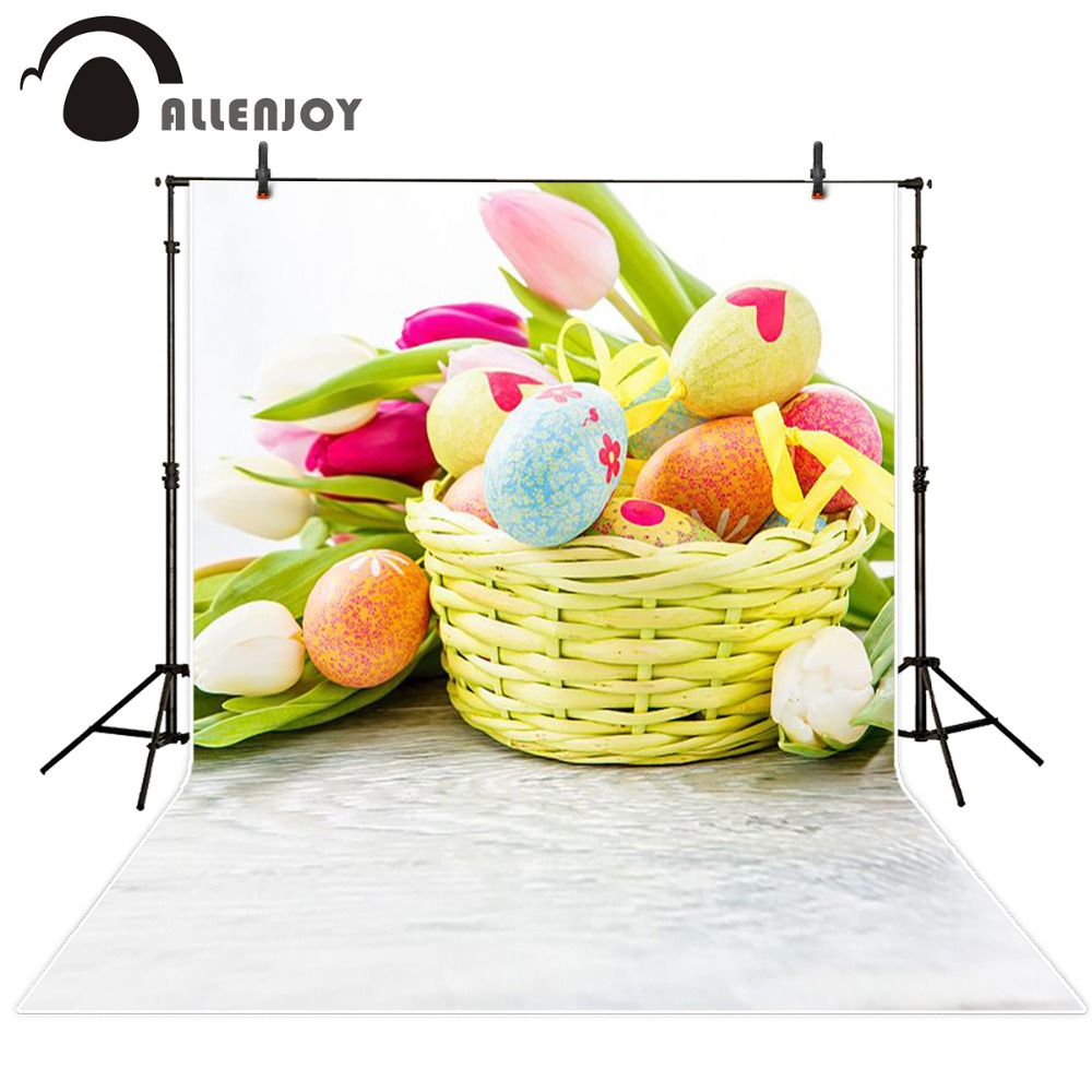 photography background 600CM*300CM New arrival Basket of Eggs photo studio Easter day zzj14<br><br>Aliexpress