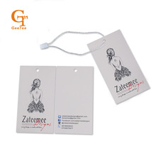 garment tags custom hang tag clothing price paper hanging tags labels, custom logo brand printing clothes labels tags