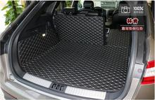 Full Rear Trunk Tray Liner Cargo Mat Floor Protector foot pad mats for 15-17 Lincoln MKX 2015 2016 2017 (6colors) FREE BY EMS