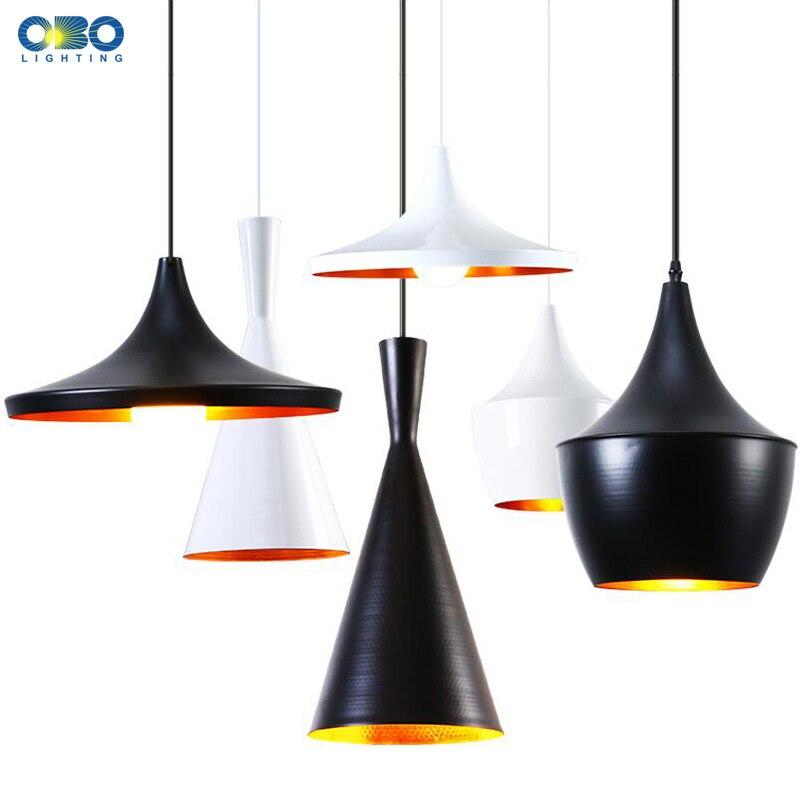 Modern Aluminum Musical Instrument Pendant Lamp 1 Set 3 Pieces Pendant Light Cord 1-1.5m Wire E27 110*240V  Free Shipping<br>