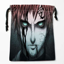 New Arrival Naruto Shippuden Anime Drawstring Bags Custom Storage Printed Receive Bag Type Bags  Storage Bags Size 18X22cm