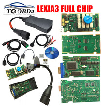 2017 Top Rated Full Chips Full Function Lexia3 921815C 12pcs NEC Relay 7pcs Optocouplers Multi-Language PSA  Lexia 3 PP2000