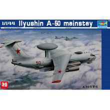 Trumpeter scale model 1/144 scale aircraft 03903 RUSSIAN IIYUSHIN A-50 MAINSTAY assembly model kits scale airplane model kit