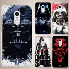 Darth Vader Star Wars Hard White Cell Phone Case Cover for Xiaomi Mi Redmi Note 3 3S 4 4A 4C 4S 5 5S 5C 4X 6 Pro