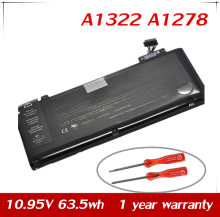 "JPYUASA 10.95V 63.5wh A1322 Laptop Battery For APPLE MacBook Pro 13"" A1278 (2009 Version) MC700 MC374 MB990 Mid 2010 Early 2011"