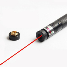 High Quality Long Distance High Power Red SD 303 Laser Pointer Powerful Hunting Laser Bore Sighter Without Battery And Charger(China)