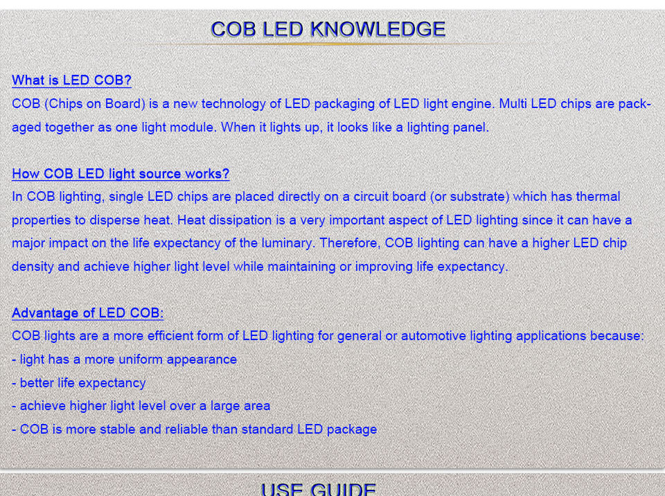 cob led light bulb lamp led lighting car work house lights (1)