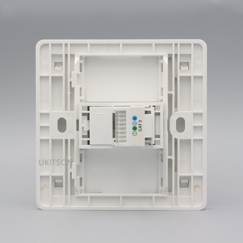One Socket RJ11 Wall Panel pic 5
